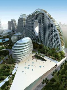 The Mad Archirects Design for Fake Hills Project is Unique #architecture trendhunter.com