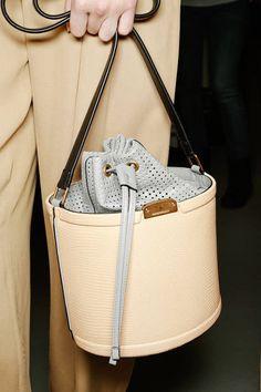 Handbag Love ...a bag within a bag; a case of contrasts! // Emporio Armani, Spring 2013