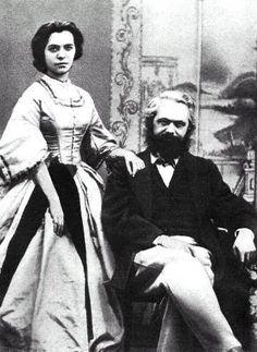 Jenny von Westphalen, Karl Marx.