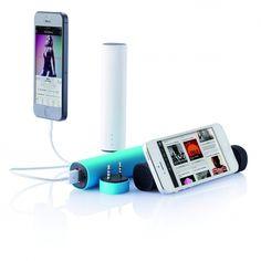 2W speaker die ook als steun voor uw telefoon dient bij het kijken naar een filmpje of muziekvideo - Speakers - Relatiegeschenken