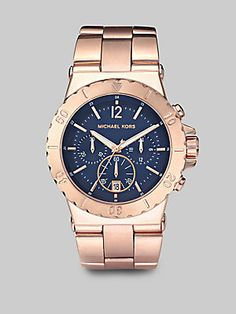 Michael Kors Rose Gold Stainless...    $275.00