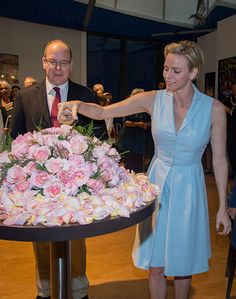 Princess Charlene made her first public appearance since announcing her pregnancy - Photo 1 | Celebrity news in hellomagazine.com