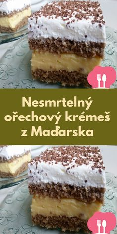 Baking Recipes, Dessert Recipes, German Desserts, Sweet Recipes, Tiramisu, Deserts, Food And Drink, Sweets, Cookies