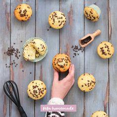 Un impasto, tre varianti. Food Presentation, Muffins, Cupcakes, Homemade, Breakfast, Recipes, Corvette, Home, Food Cakes