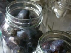 canning: plums
