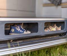 Gallery of the sprinter camper van conversion built in Oxford, England. Vw T5, Vw T3 Camper, Hiace Camper, Mercedes Sprinter, Mercedes Benz, Benz Sprinter, Motorhome Conversions, Sprinter Van Conversion, Camping Diy