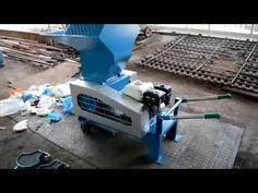 Mesin pencacah plastik : Mesin giling plastik kecil