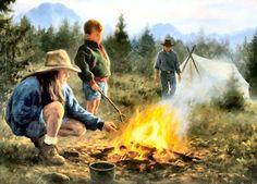 Campfire Memories by Robert Duncan