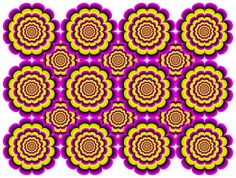 """""""Snakes, Ladybugs and Flowers"""" Optical Illusion Gif, Optical Illusions, Op Art, Trippy, Graphic Illustration, Street Art, Mandala, Abstract, 3d"""