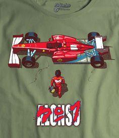 Camiseta Alonso N1 Akira Poster by Hartzack, Fanisetas.com