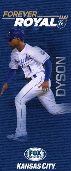 """Every season the Kansas City Royals and FOX Sports Kansas City hang banners at Kauffman Stadium and on streetpoles in the Country Club Plaza. Here are the 2015 """"Forever Royal"""" banners -- including banners for three key newcomers to the 2015 team. Kc Royals Baseball, Kansas City Royals, Baseball Teams, Sports Teams, Pole Banners, Sporting Kansas City, City Pride, Team Gear"""