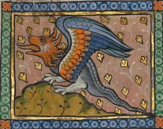 A Dragon, Franco-Flemish, about 1270