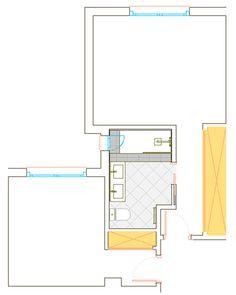 Reforma de baño, estado actual de dormitorio principal y de niños.