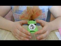 Tutorial scarpetta porta-confetti bimbo tutorial shoes for children - YouTube