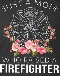 Just a mom who raised a Firefighter T shirt firefighter mom shirt, firefighter mom tshirt, firefight Christmas Presents For Boys, Presents For Mom, Gifts For Mom, Firefighter Funny, Vintage Diy, Funny Birthday, Mom Shirts, Graduation Gifts, Raising