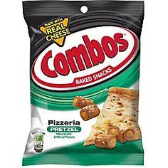 Combos Pizzeria Pretzel Snacks for sale online Tortillas, Combos Snacks, Pretzel Cheese, Piece Of Pizza, Pizza Flavors, No Bake Snacks, On The Go Snacks, Saveur, Oven Baked