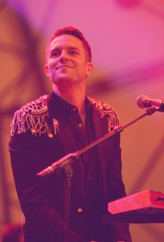 The Killers. Such a cutie! Love Of My Life, Love Her, Brandon Flowers, Ideal Man, Heaven Sent, Go To Sleep, Music Love, The Man, Fangirl