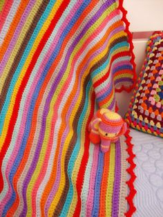 Hello! Thank you soooooo much for all your wonderful comments on my stripy blanket… I was so happy reading every single word :) T H A N K  Y O U ! Here is the graphic of the stripy's…