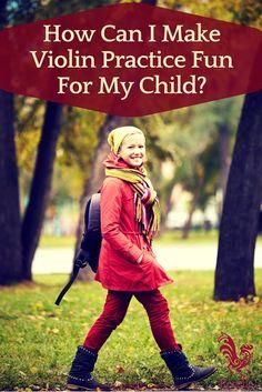 How Can I Make Violin Practice Fun For My Child? #music #violin #suzukimethod