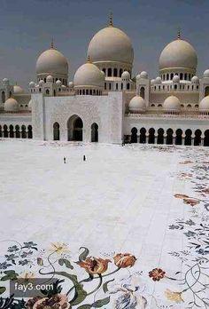 صورة مسجد الشيخ زايد الكبير ٣٥ #أبوظبي