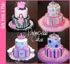 princess theme baby shower | Half Baked – The Cake Blog » Pretty Pretty Princess!