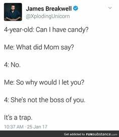 It's a trap. RUN.