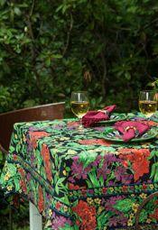 Veranda Tablecloth - Black