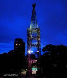 Torre de colores #tower #color #manizales #colombia #cable #torredelcable
