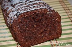 Chec cu nuca si scortisoara, de post - LaLena.ro No Cook Desserts, Vegan Desserts, Vegan Recipes, Cooking Recipes, Loaf Cake, Pastry Cake, Chocolate Lovers, Coco, Deserts