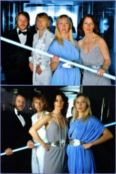 Voulez Vous -the photo sessions for the new album were taken at Alexandra Disco in Stockholm 1979