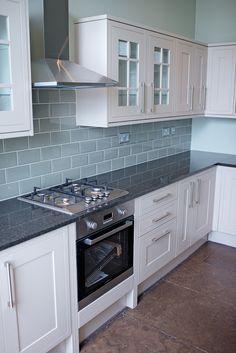 Howdens kitchen installation, Howe Street, Edinburgh.