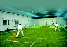 Artificial Grass cricket pitch at M.L.Jaisimha Academy, Hyderabad. For more info, do visit www.greatsportsinfra.com