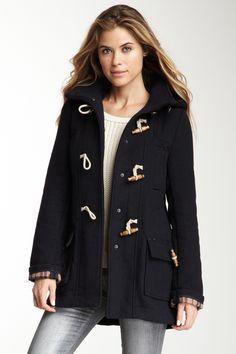 Love the toggle coat