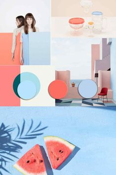 TRENDS 2020 starting from Pantone 2019 Living Coral matches Cool Color Trends for 2020 starting from Pantone 2019 Living Coral Colour Pallete, Color Schemes, Color Palettes, Color Combinations, Estilo Tropical, Pantone 2020, Design Blog, Design Design, Coral Design