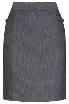 grey geo mini skirt from NEXT