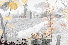 「仙川の畑 - 丘の上」2010 : 須藤由希子|Yukiko Suto 作品など まとめ - NAVER まとめ