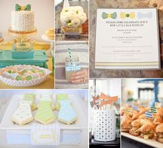 Baby Shower Ideas - via karaspartyideas.blogspot.com & thelovelycupboard