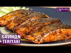 SALMON TERIYAKI - EASY RECIPE - YouTube Salmon Recipes, Fish Recipes, Chipotle Rice, Asian Beef, Teriyaki Salmon, Salty Foods, Italy Food, Ramadan Recipes, Fish And Seafood
