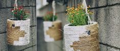 DIY Paint Can Planters (Free People Blog)