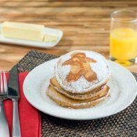 Gingerbread Pancakes by @mytexaslife