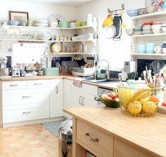 ampia e luminosa soluzione open space, immagini cucine moderne ...