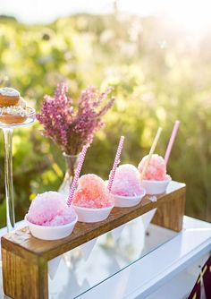 Sweet sno cone bar