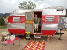 "1963 ""Yellowstone"" travel trailer."