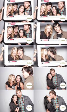 Rhett, Link and their wives (Christy and Link look like a match made in heaven!)
