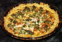 Salmon-Rice Pie from Food.com:   A good way to use leftover rice AND get your Omega-3s. This is a good way to use leftover white rice from Chinese take-out. This a great recipe to improvise with different filling ingredients.