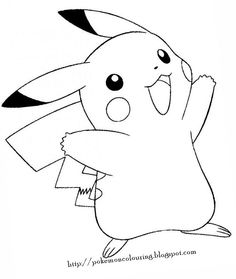 Free Printable Pikachu Coloring Pages For Kids | Coloring pages ...