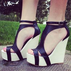 LOVE THE WEDGES THAT LOOK LIKE THEY WRAP AROUND THE BOTTOM