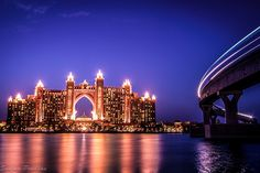 Atlantis Dubai by Sanjay Pradhan. Click to website to view this photo large...it's beautiful!