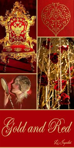 Hi Ladies.  Thanks for all the great pins today.  Tonight and tomorrow lets pin this color board of GOLD AND RED.  Thank you and Happy Pinning, ❤