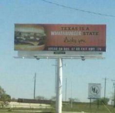 It's a Texas thang!